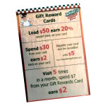 Gift Reward Cards